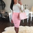 różowa elegancja