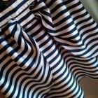 Spódnica marynarska kokarda H&M S Kasia Tusk
