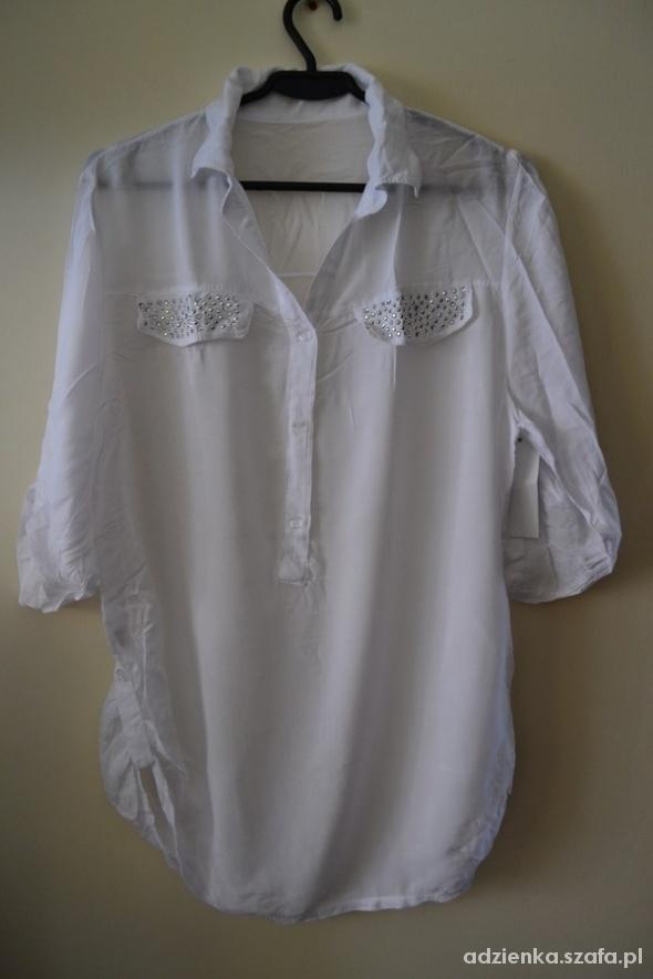 Koszule Nowa biała koszula dżety M