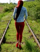 jeans&red...