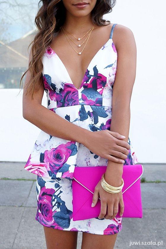 32c40d1f99 Elegancka letnia sukienka w Eleganckie - Szafa.pl