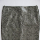 Spódnica z wężowej skóry wężowa skróla roz 40 L