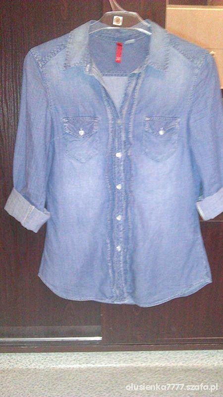 H&M koszula dzinsowa