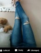 rurki jeans dziury s szukam