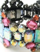 H&M kolorowe kamienie Tusk wielokolorowe Russo