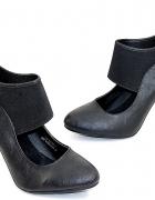 nowe czółenka modne czarne klasyczne rozmiar 38
