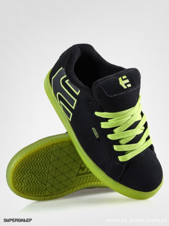 ETNIES fader KIDS black and yellow...