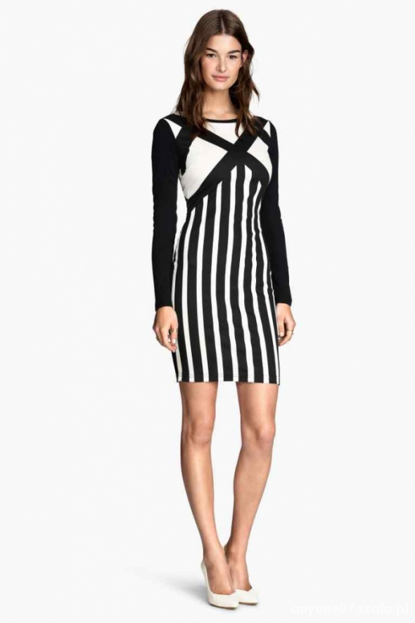 Minimalistyczna sukienka HM