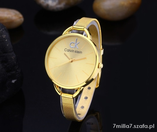 zegarek Calvin klein NOWY złoty