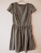 zielona rozkloszowana pattern...