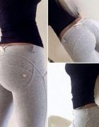 treginsy dzinsy spodnie push up freddy