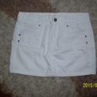 Biała spódniczka mini Vero Moda