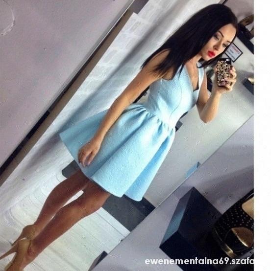 Mój styl sukienka rozkloszowana