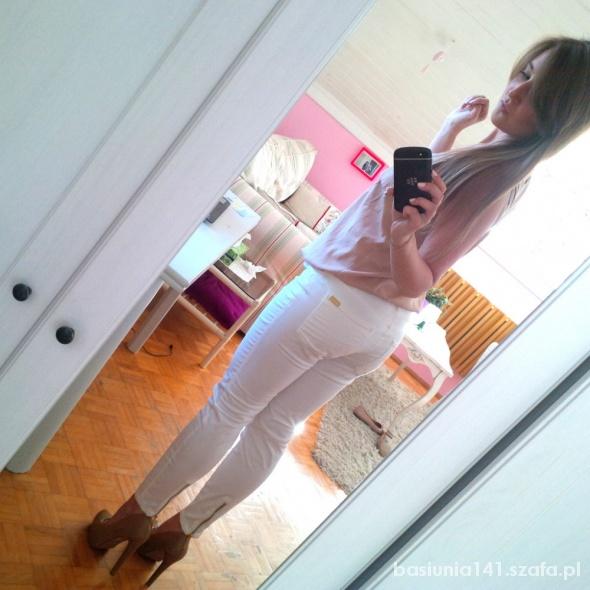 Mój styl White pants