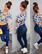 CROPTOP Mickey Mouse...