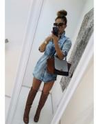 jeans marmurkowy
