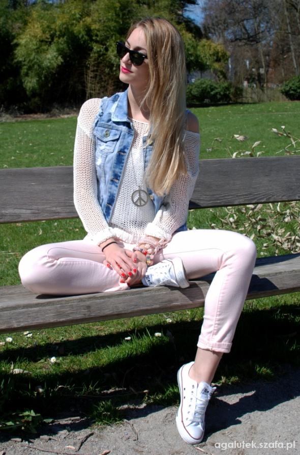 Wasze inspiracje jeans i biel