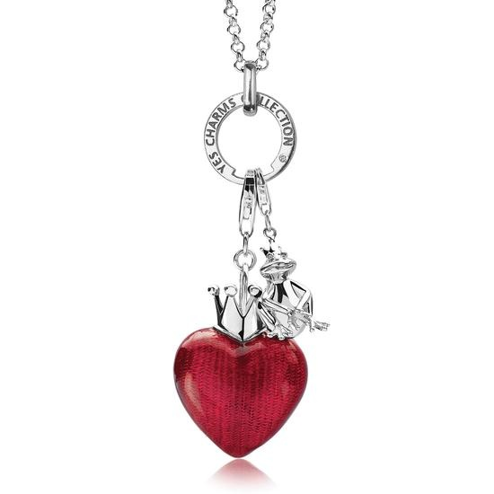 Biżuteria Serce z koroną Yes big charms