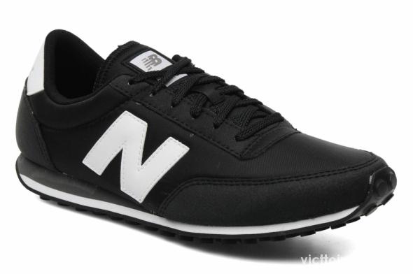 Obuwie New Balance 410 czarne z białym znaczkiem N 38
