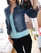 Krótka katana jeansowa S