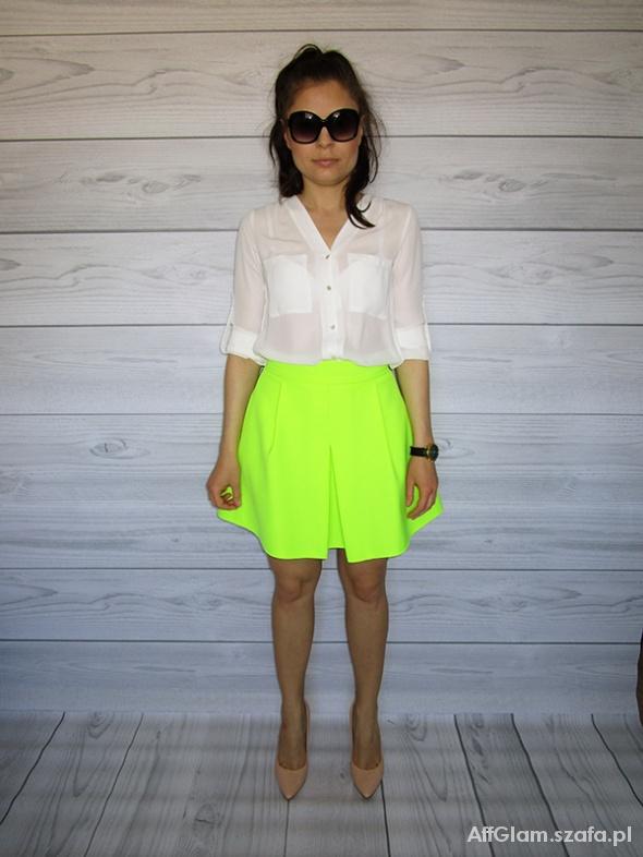 Eleganckie Spódnica neonowa