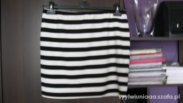Spódnice Spódnica w paski Hause