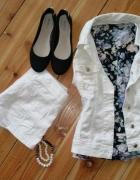 Biała Katanka i Floral Bluzeczka...