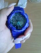 G shock niebieski