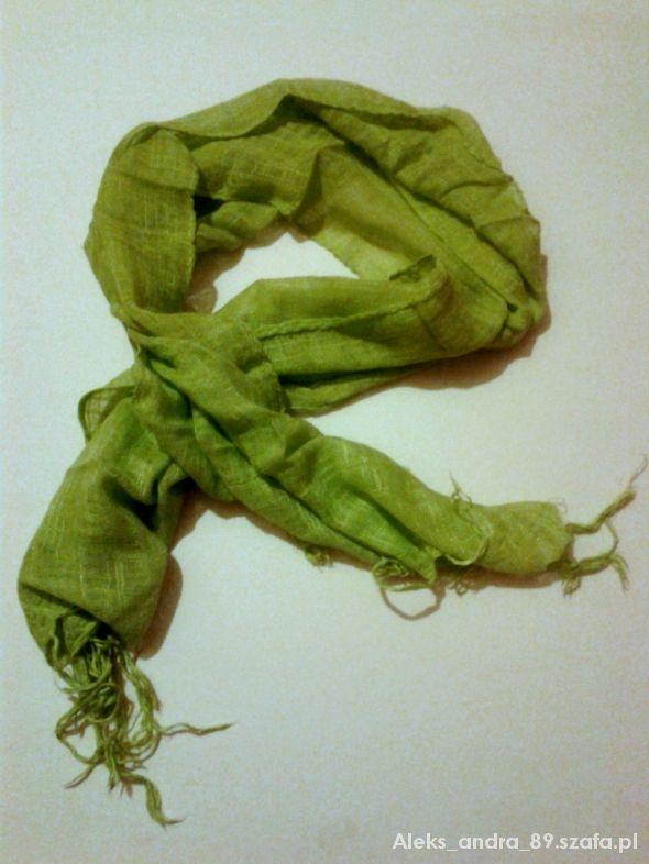 Chusty i apaszki Zielona chusta