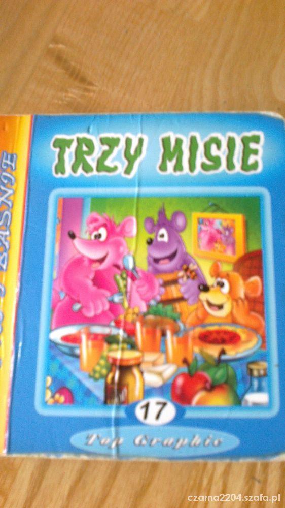 Zabawki książeczka pod tytułem Trzy misie