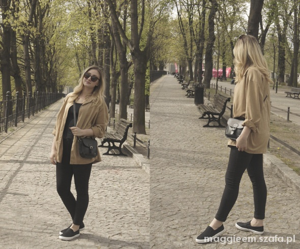 Blogerek spring in the city