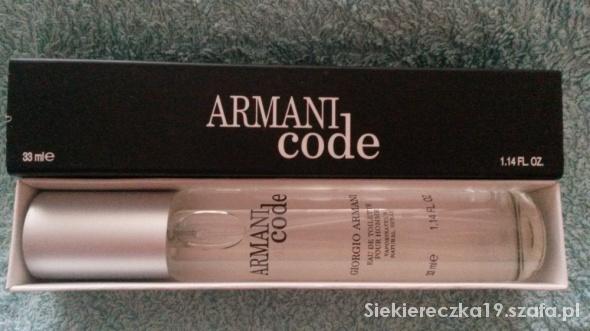 Perfumy W Dla Szafa Ml Code Niego pl 33 Armani zVpMqSU