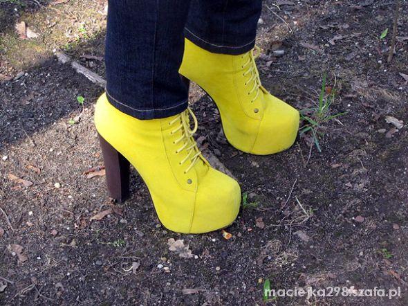 żółte lity 38