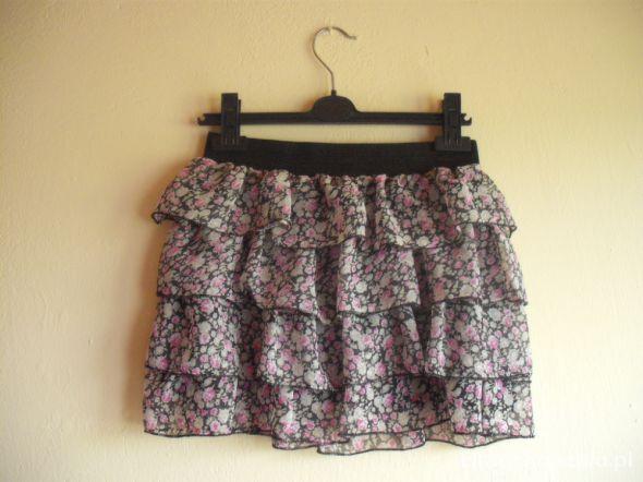 Spódnice spódnica falbanki floral