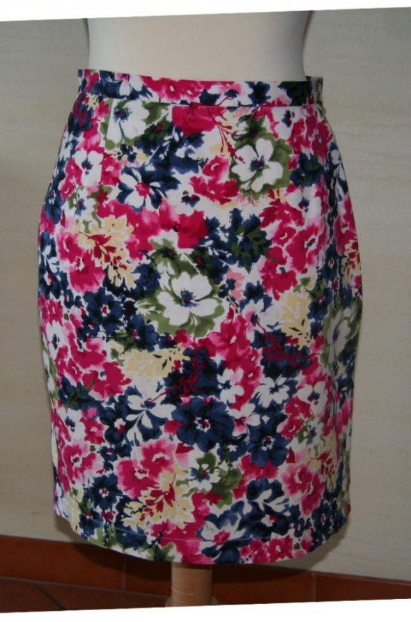 Spódnice Prosta spódnica na lato