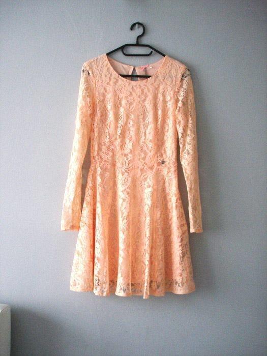 Ubrania Koronkowa sukienka cropp