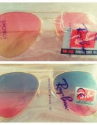 Okulary Ray Ban Sunglasses double color...