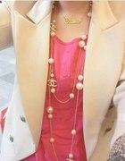 Najbardziej popularny naszyjnik chanel perły