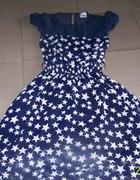 Sukienka gwiazdki kloszowana na sylwester 38M
