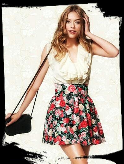 Spódnice h&m floral