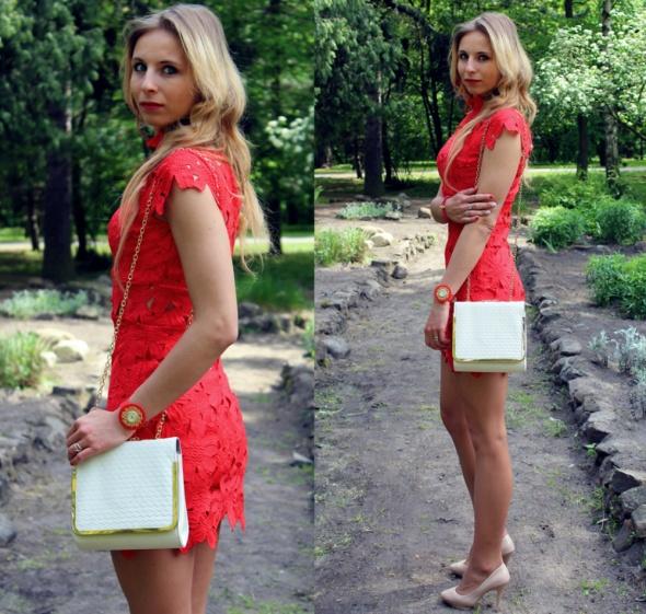 Blogerek Red dress