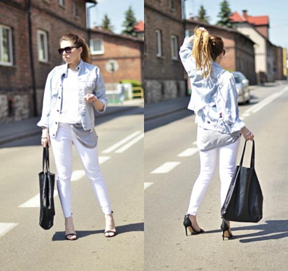 Blogerek White jeans