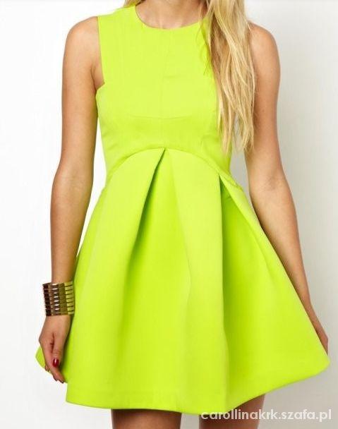 Suknie i sukienki Letnia sukienka ala Asos XS NOWA