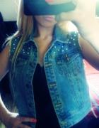 kamizelka jeans Cwieki