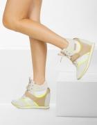 Sneakersy Beige