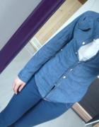 koszula jeans jeansowa niebieska S