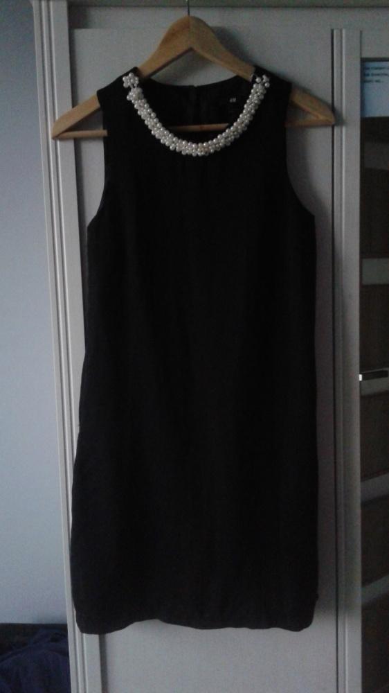 7973b97cd2 Sukienka z perłami HM 36 w Suknie i sukienki - Szafa.pl