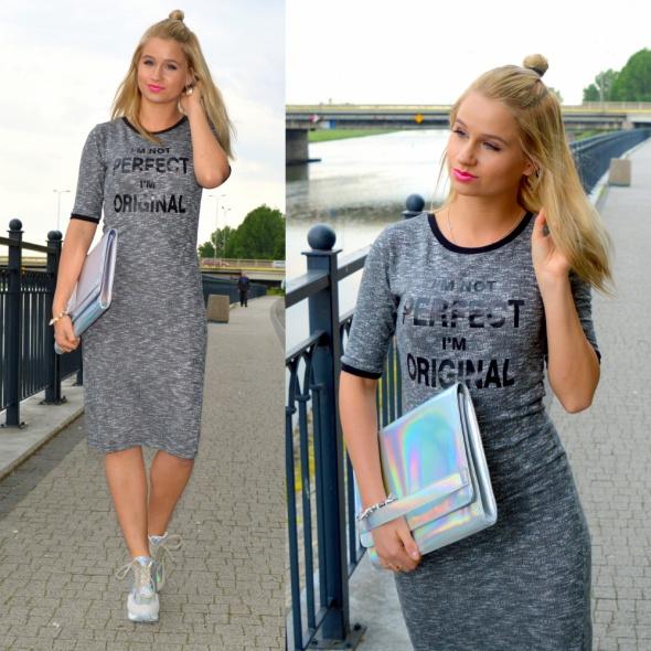 Blogerek Gray dress