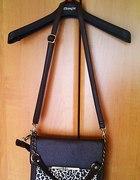 Brązowa torebka Mohito z panterką