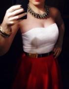 Rozkloszowana sukienka...
